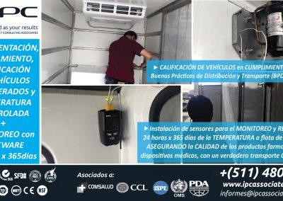 7. BPDyT Calificación de Vehículos a Temp Refrigerada y Controlada