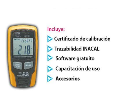 CEM-DT172 venta de termohigrometros - CEM DT172 1 - Venta de termohigrometros – Instrumentos, monitores y registradores